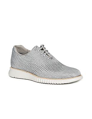 Cole Haan 2 Zerogrand Laser Wingtip Open Hole Oxford Sneakers
