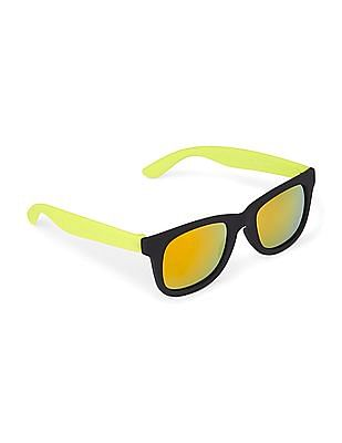The Children's Place Toddler Boy Square Frame Colour Block Sunglasses