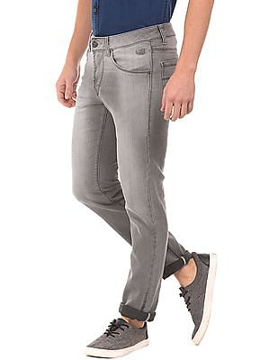 Flying Machine Stone Wash Skinny Fit Jeans