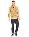 U.S. Polo Assn. Denim Co. Floral Print Muscle Fit Polo Shirt
