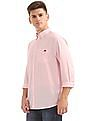 Aeropostale Regular Fit Cotton Linen Shirt