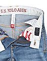 U.S. Polo Assn. Kids Boys Stone Washed Slim Fit Jeans