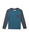FM Boys Boys Raglan Sleeve Slim Fit T-Shirt