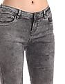 Cherokee Grey Skinny Fit Washed Jeans