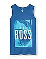 The Children's Place Boys Round Neck Graphic Tank