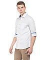 Excalibur Striped Weave Slim Fit Shirt