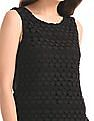 Elle Lace Panel Sleeveless Top