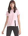 SUGR Pink Heathered Active Top
