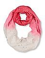 The Children's Place Girls Dip Dye Infinity Scarf