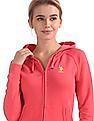 U.S. Polo Assn. Women Long Sleeve Hooded Sweatshirt