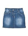 Cherokee Girls Washed Denim Skirt