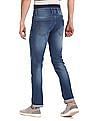 Cherokee Blue Low Waist Faded Jeans