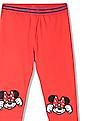 Colt Girls Mid Rise Minnie Mouse Leggings