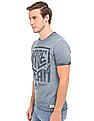 Flying Machine Washed Regular Fit T-Shirt