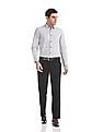 Excalibur Classic Fit Mid Rise Trousers