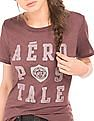 Aeropostale Printed Regular Fit T-Shirt