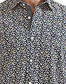 Nautica Short Sleeve Floral Printed Shirt