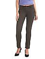 Arrow Woman Slim Fit Woven Trousers