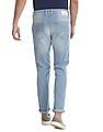 Flying Machine Blue Michael Slim Tapered Fit Low Rise Jeans