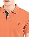 Gant Contrast Placket Pique Polo Shirt