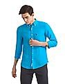 U.S. Polo Assn. Button Down Collar Linen Shirt