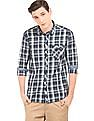 Flying Machine Check Slim Fit Shirt