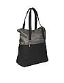U.S. Polo Assn. Women Colour Block Textured Panel Hobo Bag