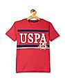 U.S. Polo Assn. Kids Boys Crew Neck Heathered T-Shirt